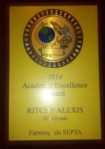 2014 Ritchy Award
